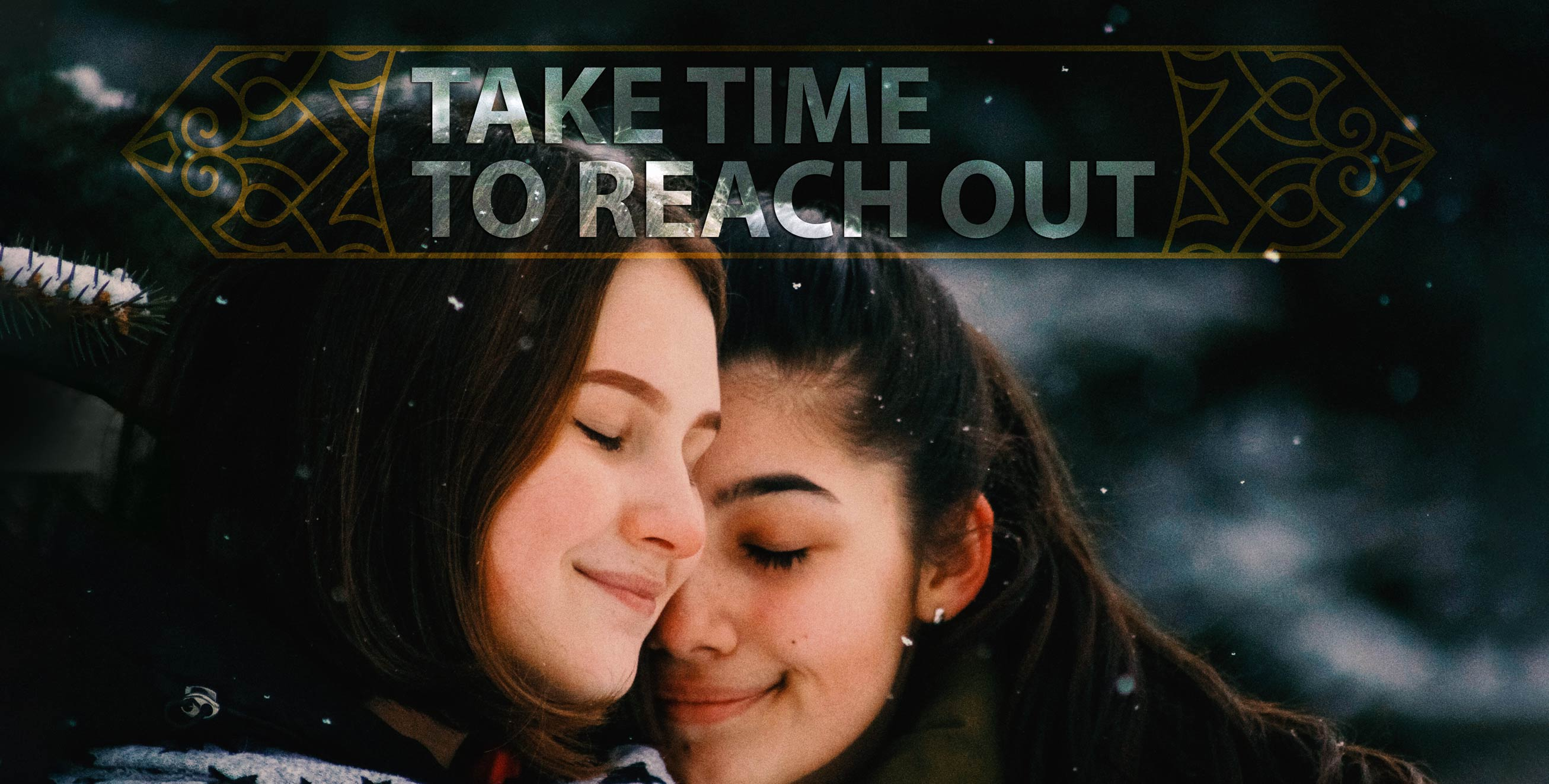 take time to reach out 001
