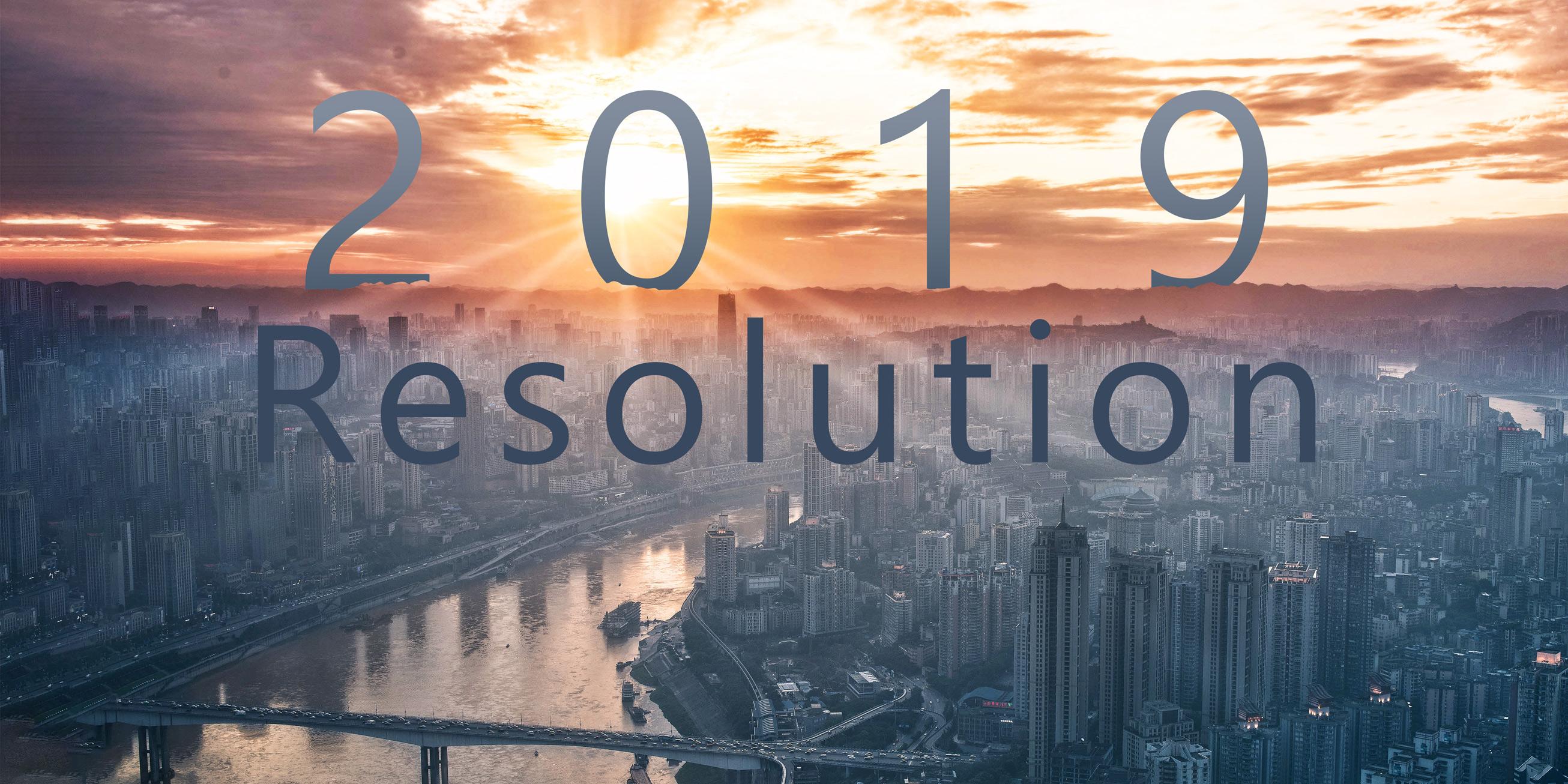 2019 Resolution